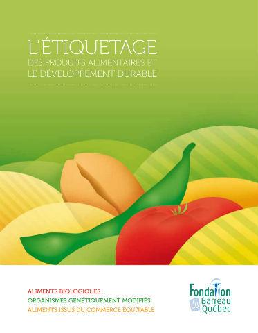 ??? L'étiquetage des produits alimentaires et le développement durable ???